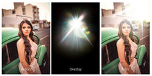 Load image into Gallery viewer, LENS FLARE Digital Overlays Set 1