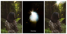 Load image into Gallery viewer, LENS FLARE Digital Overlays Set 2