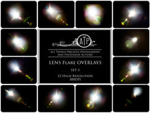 Load image into Gallery viewer, LENS FLARE Overlays Set 3