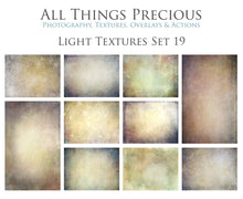 Load image into Gallery viewer, 10 Fine Art TEXTURES - LIGHT Set 19