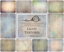 Load image into Gallery viewer, 10 Fine Art TEXTURES - LIGHT Set 6