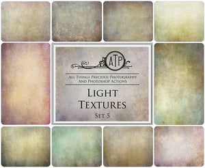 10 Fine Art TEXTURES - LIGHT Set 5