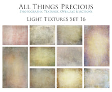 Load image into Gallery viewer, 10 Fine Art TEXTURES - LIGHT Set 16