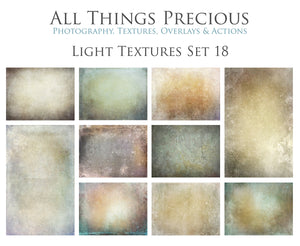 10 Fine Art TEXTURES - LIGHT Set 18