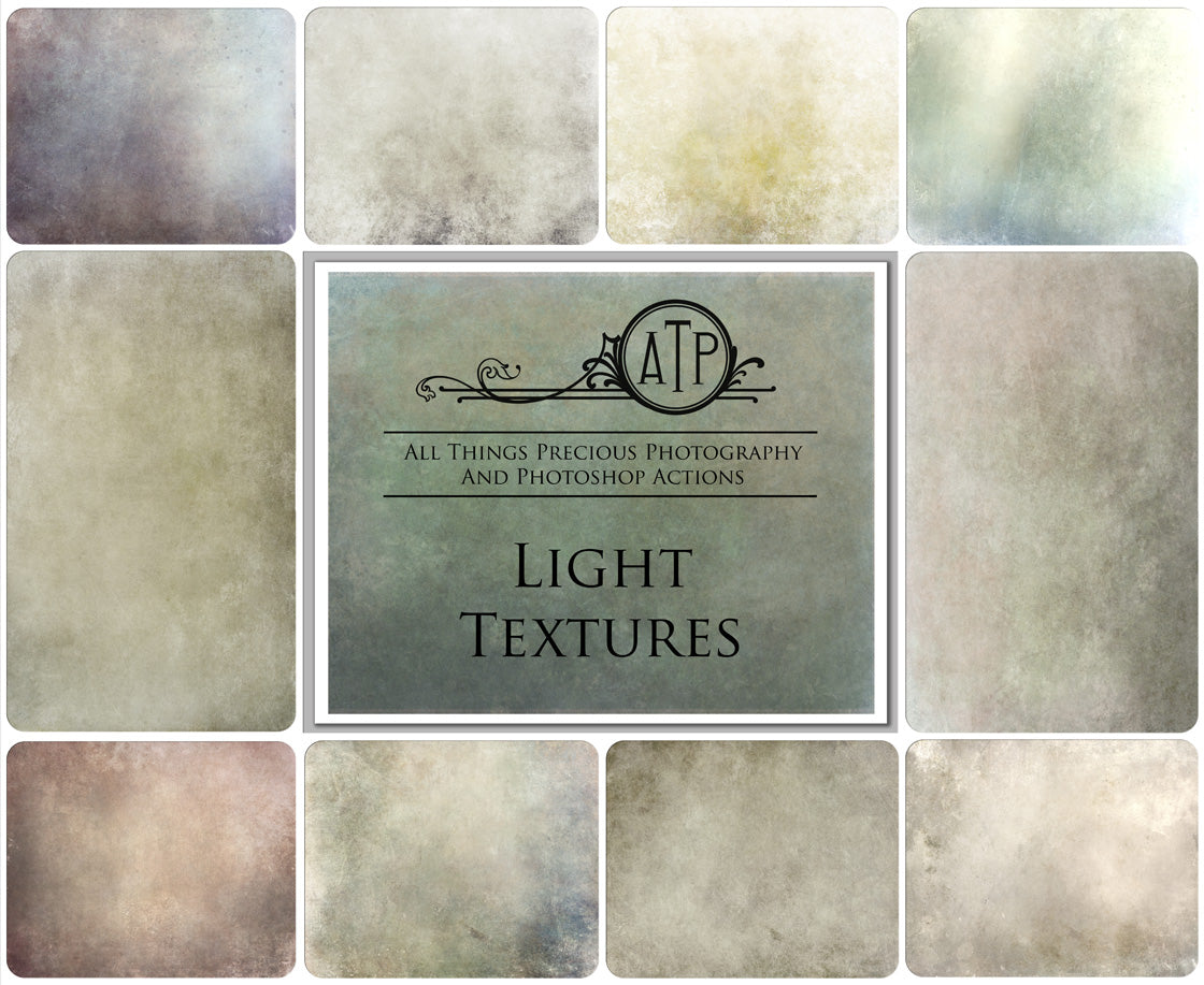 10 Fine Art TEXTURES - LIGHT Set 1
