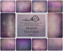 Load image into Gallery viewer, 10 Fine Art TEXTURES - MAUVE Set 1