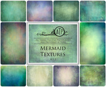 Load image into Gallery viewer, 10 Fine Art TEXTURES - MERMAID Set 2