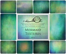 Load image into Gallery viewer, 10 Fine Art TEXTURES - MERMAID Set 3
