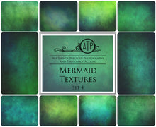 Load image into Gallery viewer, 10 Fine Art TEXTURES - MERMAID Set 4
