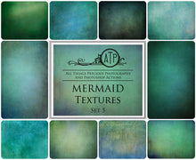 Load image into Gallery viewer, 10 Fine Art TEXTURES - MERMAID Set 5