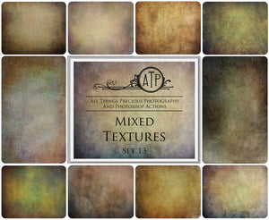 10 Fine Art TEXTURES - MIXED Set 13