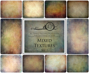 10 Fine Art TEXTURES - MIXED Set 7