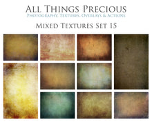 Load image into Gallery viewer, 10 Fine Art TEXTURES - MIXED Set 15
