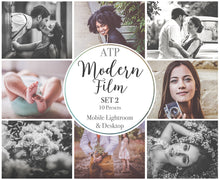 Load image into Gallery viewer, MODERN FILM Set 2 Lightroom Presets - For Mobile and Desktop