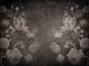10 OLD MASTERS MONOCHROME Background TEXTURES / DIGITAL BACKDROPS  - Set 2