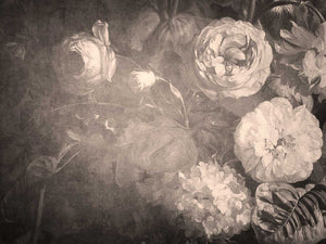10 OLD MASTERS MONOCHROME Floral Background TEXTURES - Set 1
