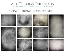 Load image into Gallery viewer, 10 Fine Art TEXTURES - MONOCHROME Set 13