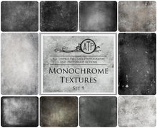Load image into Gallery viewer, 10 Fine Art TEXTURES - MONOCHROME Set 9