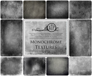 10 Fine Art TEXTURES - MONOCHROME Set 10