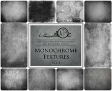 Load image into Gallery viewer, 10 Fine Art MONOCHROME High Resolution TEXTURES Set 4