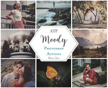 Load image into Gallery viewer, DEEP & MOODY Mini Set Photoshop Actions
