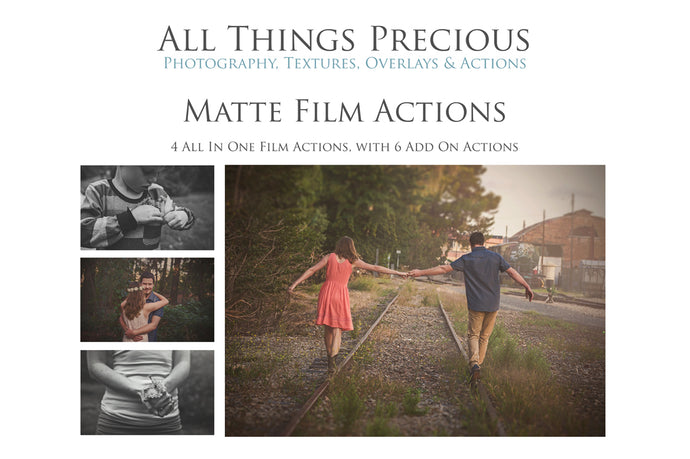 MATTE FILM Photoshop Actions