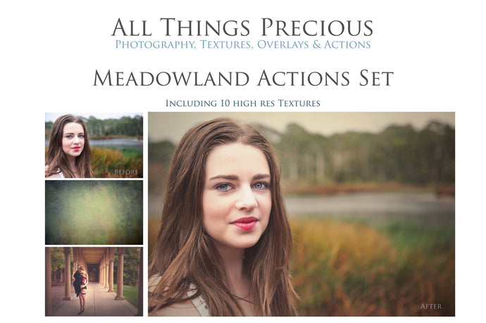 MEADOWLAND Photoshop Actions