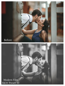 MODERN FILM Set 2 Lightroom Presets - For Mobile and Desktop