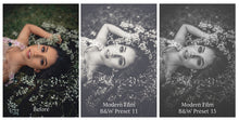Load image into Gallery viewer, MODERN FILM Set 3 Lightroom Presets - For Mobile and Desktop