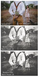 MODERN FILM Set 6 Lightroom Presets - For Mobile and Desktop