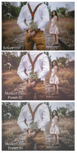 MODERN FILM Set 7 Lightroom Presets - For Mobile and Desktop