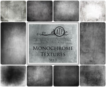 Load image into Gallery viewer, 10 Fine Art TEXTURES - MONOCHROME Set 5