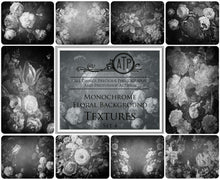 Load image into Gallery viewer, 10 OLD MASTERS MONOCHROME Background TEXTURES / DIGITAL BACKDROPS  - Set 4