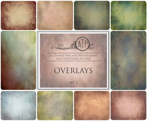10 Fine Art OVERLAY High Resolution TEXTURES Set 3