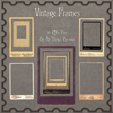 Load image into Gallery viewer, VINTAGE Frames Clipart