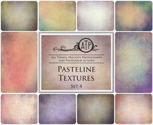 Load image into Gallery viewer, 10 Fine Art TEXTURES - PASTELINE Set 4