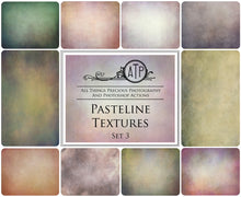 Load image into Gallery viewer, 10 Fine Art PASTELINE High Resolution TEXTURES Set 3