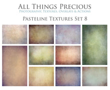 Load image into Gallery viewer, 10 Fine Art PASTELINE High Resolution TEXTURES Set 8