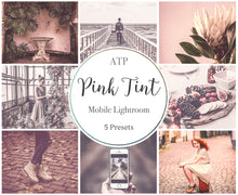 Load image into Gallery viewer, PINK TINT Lightroom Presets - For Mobile and Desktop