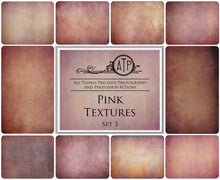 Load image into Gallery viewer, 10 Fine Art PINK High Resolution TEXTURES Set 3