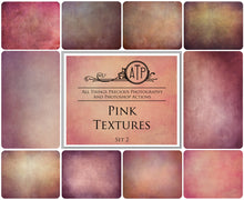 Load image into Gallery viewer, 10 Fine Art PINK High Resolution TEXTURES Set 2