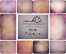 Load image into Gallery viewer, 10 Fine Art TEXTURES - PINK Set 5