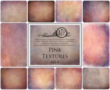 Load image into Gallery viewer, 10 Fine Art PINK High Resolution TEXTURES Set 8