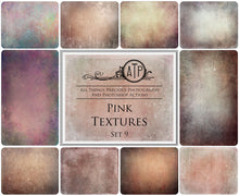 Load image into Gallery viewer, 10 Fine Art TEXTURES - PINK Set 9