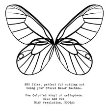 Load image into Gallery viewer, PNG FAIRY WINGS for CRICUT - Set 17