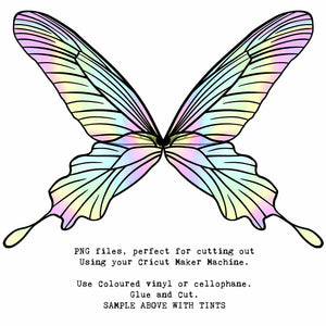 PNG FAIRY WINGS for CRICUT - Set 18