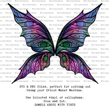 Load image into Gallery viewer, PNG FAIRY WINGS for CRICUT - Set 19