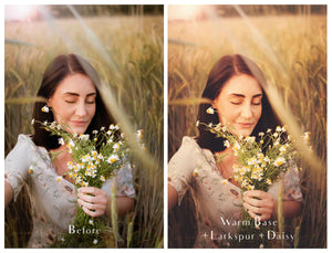 PRETTY POSIE Photoshop Actions