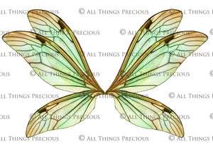PRINTABLE FAIRY WINGS for Art Dolls - Set 8