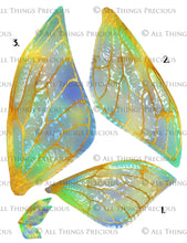 Load image into Gallery viewer, PRINTABLE FAIRY WINGS for Art Dolls - Set 13